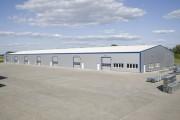 Bâtiment métallique modulaire - Portée (m) : 10 - 50 m, à partir d'une surface de 200 mètres carrés