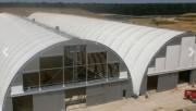 Batiment métallo textile de stockage - Structure en architecture metallo textile