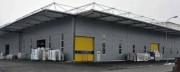 Bâtiment modulaire auvent ou fermé - Hauteur importante (jusqu'à 14 m) - Portée de 10 à 60 m
