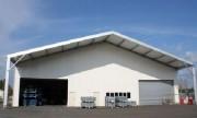 Bâtiment modulaire de stockage - Paroi simple peau-Norme NV65-résiste aux charges climatiques (neige et vent)