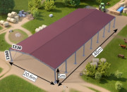 Bâtiment modulaire galvanisé 850 m - Adaptés aux implantations en altitude et zones montagneuses allant jusqu'à 850m max