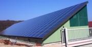 Bâtiment Photovoltaïque Multi usage - Toiture en tôles laquées de 1er choix 63/100