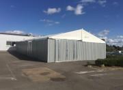 Bâtiment temporaire pour extension de zone de production - Espace supplémentaire de production