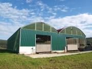 Bâtiments d'élevage pour exploitations agricoles - Bâtiment modulaire pour exploitation polyvalente