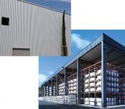 Bâtiments de stockage industriel 10 à 40 m - Entrepôt de stockage