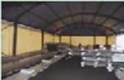 Batiments de stockage industriel en toile - Abri de stockage industriel en toile