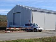 Bâtiments de stockage modulaires toiture acier