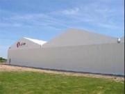 Bâtiments temporaires 10 à 30 mètres - Tradistock, pour stockage