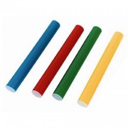 Bâton de relais PVC - Lot de 4 bâtons de 30 cm - 4 coloris