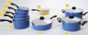 Batterie de cuisine émail - Batterie de cuisine
