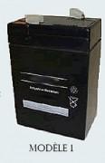 Batterie étanche 6V - Capacité : de 3,5 à 11 Ah - Plusieurs modèles disponibles