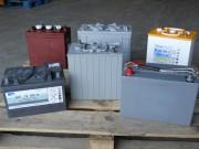 Batterie industrielle de traction pour transpalettes - Pour autolaveuses - véhicules électriques
