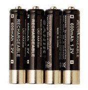 Batterie MicroTalk Cobra - 4 batteries de type LR04 AAA