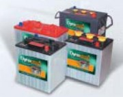 Batterie monobloc 6V pour voiture de golf - Capacité (A) : 240 Ah/20h - 195 Ah/5h