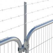 Bavolet de sécurité - Bavolet adaptable sur clôture de chantier