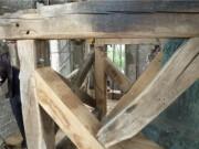 Beffroi pour cloche - Fabrication traditionnelle en bois de chêne