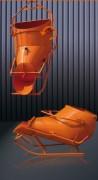 Benne à béton couchée pour vidage latéral - Capacité (L) de 150 à 4000