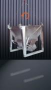 Benne à béton en aluminium - Capacité (L) : De 250 à 2000