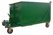Benne à déchets à porte frontale - 13 Contenances : de 600 à 3200 L