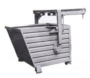 Benne à déchets avec palonnier indépendant - Charge utile : 1,5 tonnes