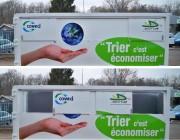 Benne à déchets industriels - Stockage de déchets industriels