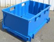 Benne à déchets pour usines - Déchets issus d'activités de manutention