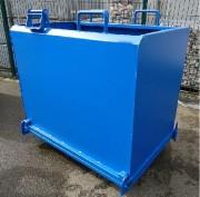 Benne à fond ouvrant pour déchets légers - Volume : de 500 à 1250 Litres