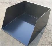 Benne à matériaux - Capacité ( L ) : 300 à 800