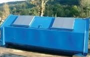 Benne à ordures ménagères 10 et 15 m3 - Benne collecte des déchets à couvercle métallique léger