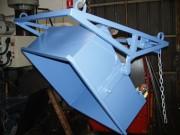 Benne à palonnier compacte - Hauteur de remplissage : 450 mm