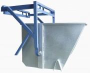 Benne à palonnier pour déchets - 4 Volumes : de 600 à 1050 L