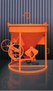 Benne à tuyau avec nacelle - Capacité (L) : de 500 à 1500