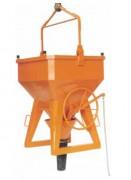 Benne à tuyau fond ouvrant - Capacité (L) : de 250 à 4000