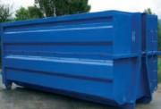 Benne amovible multi usage pour transport et gestion des déchets - Benne construction monobloc : grande étanchéité