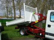 Benne amovible pour camion - Pour camion 3,5t