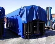 Benne amovible pour dechet industriel - Capacité de charge : 15 m³ à 40 m³