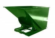 Benne auto-basculante à déchets - Charge : 1200 - 1500 - 2000 Kg