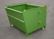 Benne basculante à déchets - Volume 600, 900 ou 1200 litres (ou sur mesure)