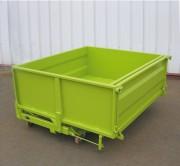 Benne basculante à porte frontale 4800 Litres - Volume de 1000 à 4800 litres ou de 410 à 1300 litres