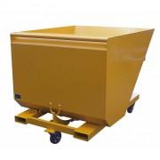 Benne basculante chariot elevateur - Capacité : de 500 à 1860 Litres