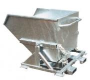 Benne basculante galvanisée - Volume (L) : 250 - 1000 – 1500 - 2000