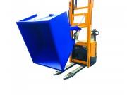 Benne basculante manuelle - Volumes 500, 800, 1000 et 1500 litres