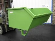 Benne basculante manuelle surbaissée - Capacité de 500 à 1500 litres
