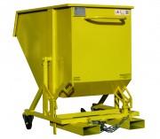 Benne basculante pour déchets légers - GECOLIGHT - Déchets légers - Basculement par pivot central