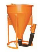 Benne béton à tuyau - Capacité (L) de 150 à 2000