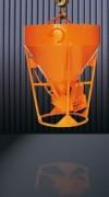 Benne béton à tuyau centrale - Capacité (L) : De 250 à 2000