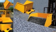 Benne chargeuse de chantier - Capacité : de 250 à 1000 L