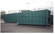 Benne compacteur déchets 20 à 30 m3 - Dimensions (mm) : L 6190 - l 2500 – H 2610