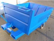 Benne de manutention pour déchets industriels - Adaptée pour différents types de métaux