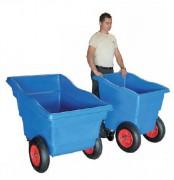 Benne de récupération plastique - Charge utile (Kg) : 250 – 350
